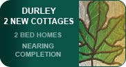 2 new houses / cottages for sale at Durley near Fareham in Hampshire