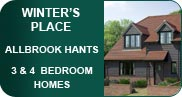 5 new high quality Hampshire homes - 3 and 4 bedroom